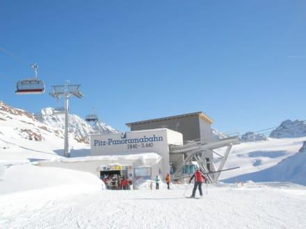 Bahn zum höchsten Punkt - Pitztaler Gletscher