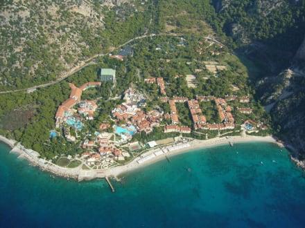Lykia-World aus der Luft - SENTIDO Lykia Resort & Spa