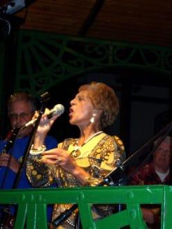 Der Auftritt von Jenny Brown - Jazz-Festival