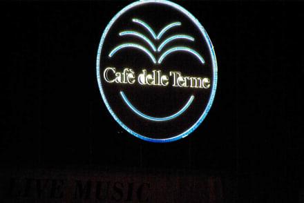 Das Logo vom Cafè - Café delle Terme