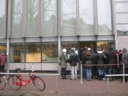 Eingang Anne Frank Museum - Anne Frank Haus