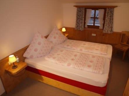 Das Schlafzimmer in der Jakobs Insel 5 Sterne - Ferienwohnungen Zum Sommerfrischler