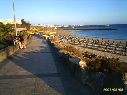 Hotel Hesperia Playa Dorada Playa Blanca - Strandpromenade Playa Blanca de Yaiza