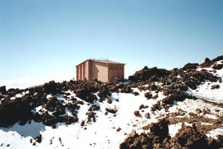 Parque Nacional de Teide - Seilbahn Bergstation 3555m - Teide Nationalpark