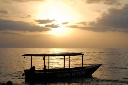 Sonnenuntergang am Strand von Negril - Negrils 7 Miles Beach