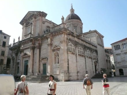 Landgang in Dubrovnik - Kathedrale von Dubrovnik