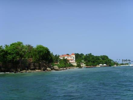 Hotel auf der Bacardi-Insel - Bacardi Insel - Isla Cayo Levantado