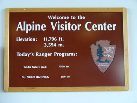 Im Park Alpine Visiter Center - Alpine Visitor Center