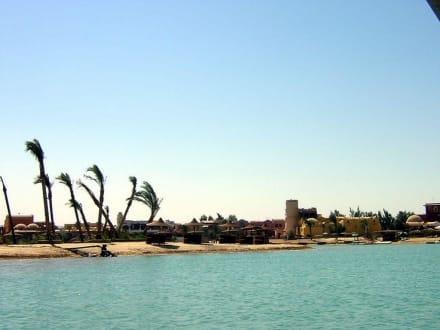 Fahrt durch die Lagune - Lagunenfahrt durch El Gouna