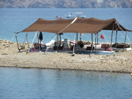Die Insel Yassica - Bootstour Fethiye