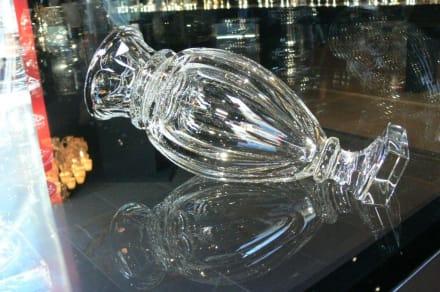 Glasausstellung - Kongresszentrum