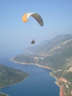 Paragiling über Kas - Paragliding
