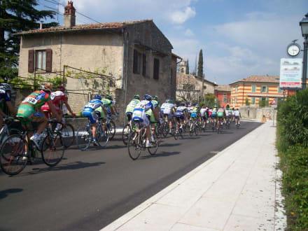 Das waren die Profis - Radfahren Albisano