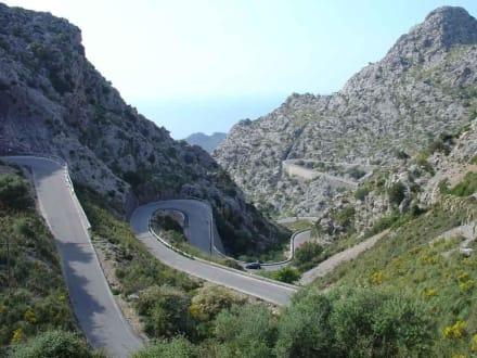 Mallorca - Serpentinenstrasse
