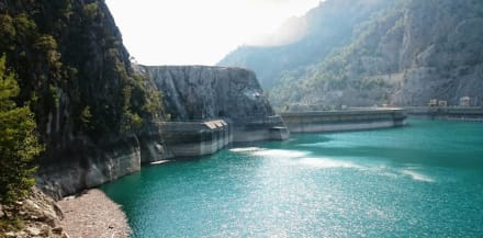 Oymapinar Stausee - Oymapinar Baraji/ Stausee Green Lake & Green Canyon