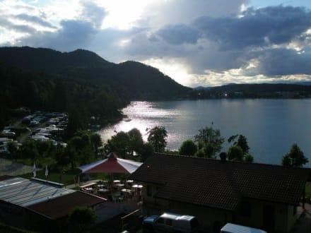 Sonnenuntergang am Klopeiner See - Klopeiner See