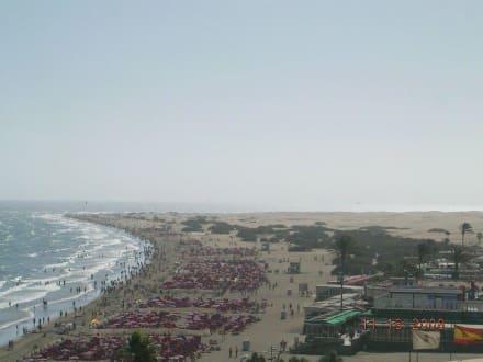 Strand von Playa del Ingles - Strand Playa del Ingles