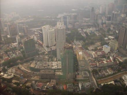 Ausblick vom Fernsehturm - Menara Kuala Lumpur (Fernsehturm)