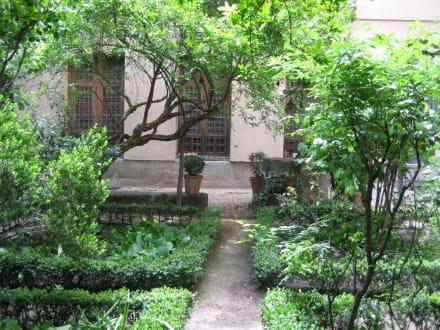 Casa Lope de Vega - Garten - Museo Casa de Lope de Vega