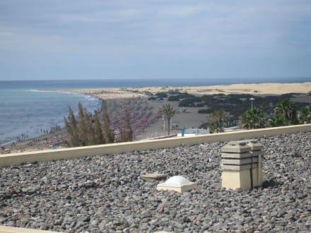 Blick auf den Strand - Strand Playa del Ingles