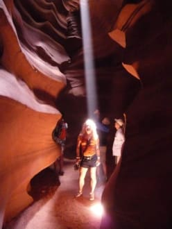 Upper Antelope Canyon by Page am Lake Powell - Antelope Canyon