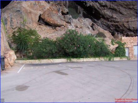 Platz vor der Höhle - Höhlen von Arta/Cuevas de Artá