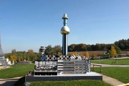 Heizkraftwerk - Miniaturwelt Lichtenstein