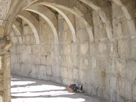Säulengang - Theater von Aspendos