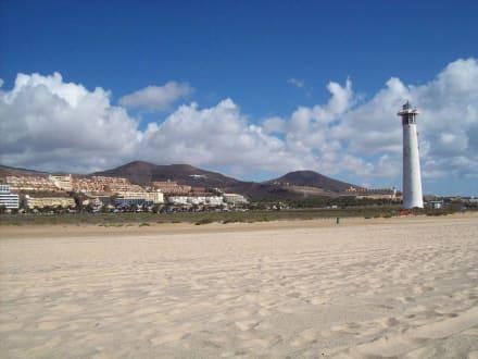 Strand beim Leuchtturm - Strand Morro Jable