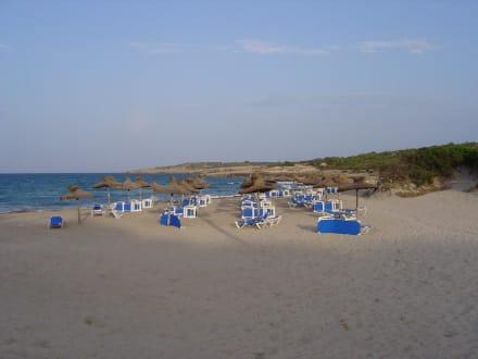 Oberes Ende des Strandes - Strand Cala Millor