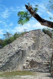 Die höchste Pyramide - Ruinenstätte Cobá