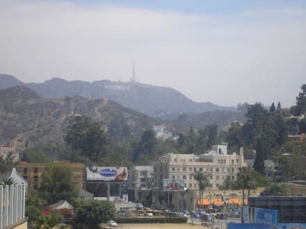 Blick vom H & H Center - Hollywood & Highland Center