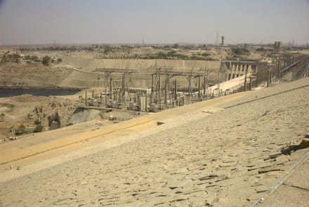 Kraftwerk - Assuan Staudamm