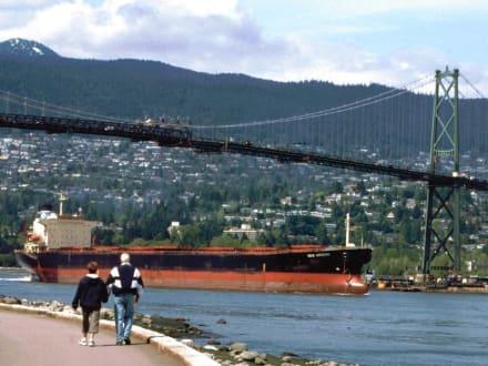 The Lions Gate Bridge - Lions Gate Bridge
