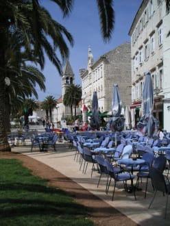 Am alten Fischmarkt in Trogir - Altstadt Trogir