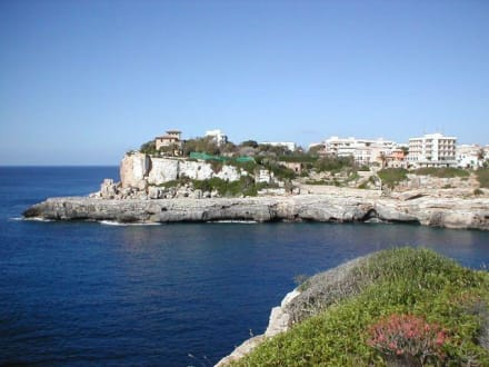 Hafeneinfahrt - Hafen Cala Figuera