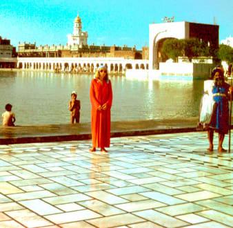 Marion in Amritsar - Goldener Tempel