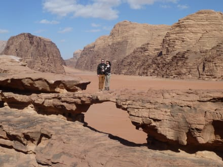 Nature reserve/Zoo - Desert landscape of Wadi Rum