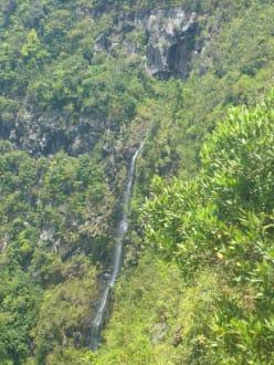 Am Alexandra-Wasserfall - Chamarel-Wasserfall