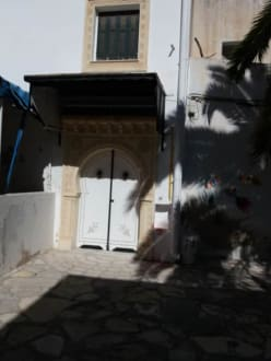 Schöne Tür in der Medina - Zentrum Hammamet