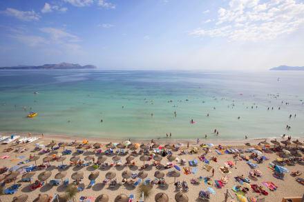 Hotel beach -
