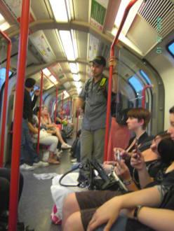 Central Line Train - Transport