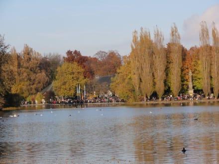 Seehaus am Kleinhesseloher See - Englischer Garten