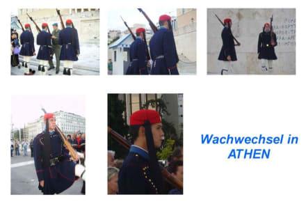 Wachwechsel in Athen - Wachwechsel