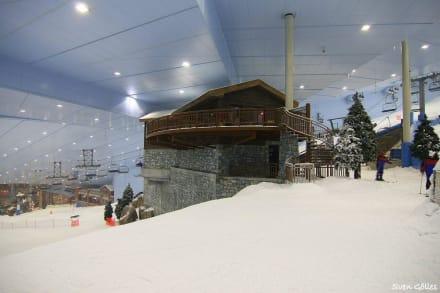 Mittelstation - Ski-Dubai Halle (Mall of the Emirates)