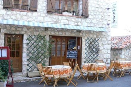 Restaurante - Burg Gourdon