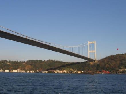 Mehmet-Fatih-Hängebrücke - Bosporus Brücke