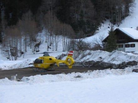 Helicopterrettung - Silvretta Montafon