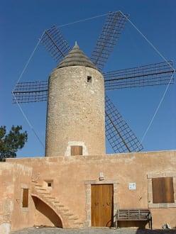 Windmühle - Tal der Windmühlen