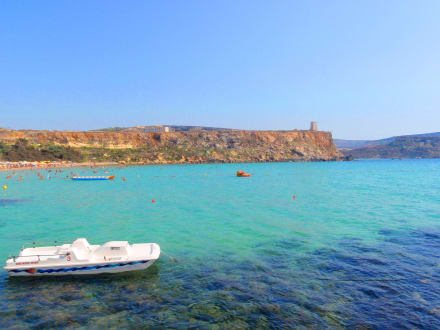 Ja so schön kann Malta sein. - Blaue Lagune
